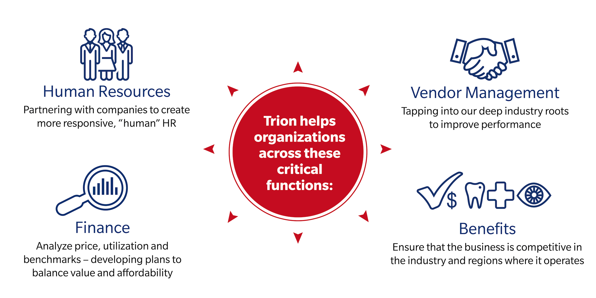 image describing how Trion helps organizations